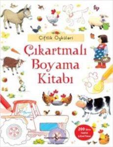Çiftlik Öyküleri - Çıkartmalı Boyama Kitabı