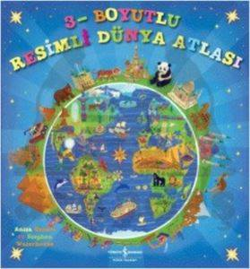 3 Boyutlu Resimli Dünya Atlası
