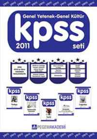 KPSS Genel Yetenen Genel Kültür Konu Alatımlı 2011 Seti