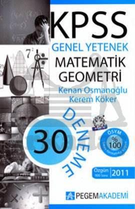 KPSS Matematik Geometri 30 Deneme