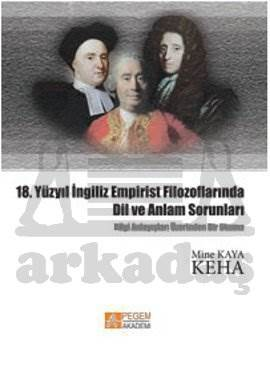 18. Yüzyıl İngiliz Empirist Filozoflarında Dil ve Anlam Sorunları