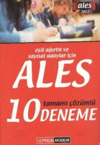 ALES Tamamı Çözümlü 10 Deneme [EA ve Sayısal] (2013)