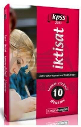 KPSS İktisat Tamamı Çözümlü 10 Deneme