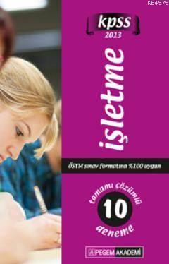 KPSS İşleme Tamamı Çözümlü 10 Deneme