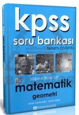 KPSS Matematik Tamamı Çözümlü Soru Bankası (Sözel)