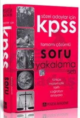 KPSS Genel Yetenek Genel Kültür Sözel Adaylar İçin Soru Yakalama Seti