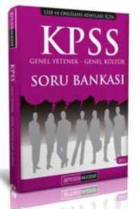 KPSS Genel Kültür Genel Yetenek Soru Bankası-Lise Ve Önlisans Adayları İçin