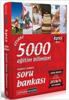 KPSS Eğitim Bilimleri Efsane 5000 Tamamı Çözümlü Soru Bankası