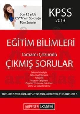 KPSS 2013 Eğitim Bilimleri Çıkmış Sorular