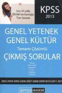 KPSS Genel Yetenek Genel Kültür 2013