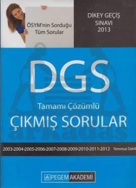 DGS Hazırlık Tamamı Çözümlü Çıkmış Sorular (2003-2012)