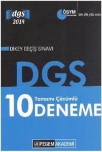 DGS Tamamı Çözümlü 10 Deneme 2014