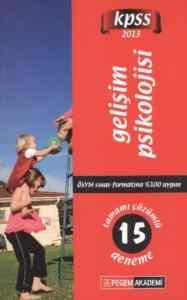 Pegem KPSS Gelişim Psikolojisi Tamamı Çözümlü 15 Deneme (2013)