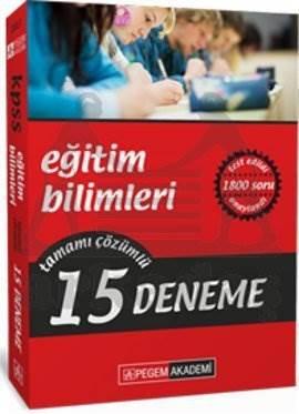 Pegem KPSS Eğitim Bilimleri Tamamı Çözümlü 15 Deneme (2013)