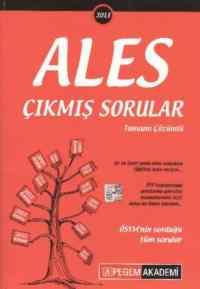 Pegem ALES Tamamı Çözümlü Çıkmış Sorular (2013)