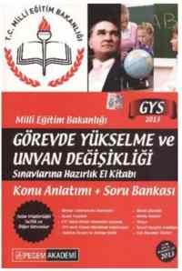 Milli Eğitim Bakanlığı Görevde Yükselme ve Unvan Değişikliği (2013)