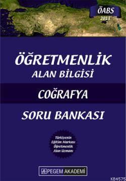 Pegem Öğretmenlik Alan Bilgisi Coğrafya Soru Bankası (2013)