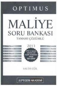 Pegem KPSS Maliye Soru Bankası Tamamı Çözümlü 2013