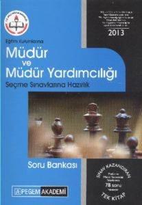 Pegem Müdür ve Müdür Yardımcılığı Soru Bankası (2013)