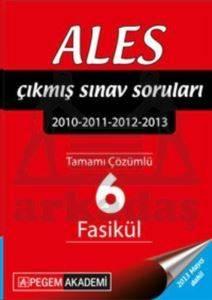2016 ALES Tamamı Çözümlü 2010-2015 10 Fasikül Çıkmış Sınav Soruları