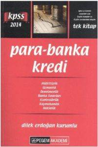Pegem KPSS A Grubu Para Banka Kredi Konu Anlatımlı 2014