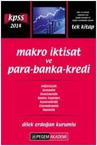KPSS A Grubu Makro İktisat ve Para-Banka-Kredi Konu Anlatımı 2014