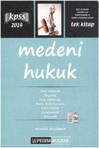 Pegem KPSS Medeni Hukuk 2014