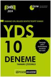 2016 Pegem YDS Tamamı Çözümlü 10 Deneme