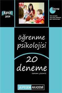 KPSS Öğrenme Psikolojisi Tamamı Çözümlü 20 Deneme 2014