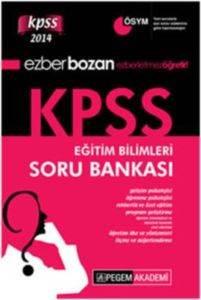 Ezberbozan KPSS Eğitim Bilimleri Soru Bankası 2014