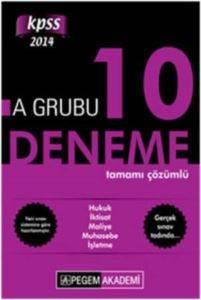 KPSS A Grubu Tamamı Çözümlü 10 Deneme 2014