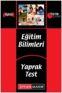 KPSS Eğitim Bilimleri Yaprak Test 2014