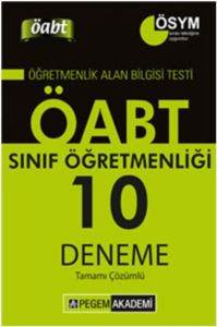 KPSS ÖABT Sınıf Öğretmenliği Tamamı Çözümlü 10 Deneme 2014