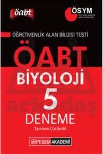 Pegem KPSS ÖABT Biyoloji Tamamı Çözümlü 5 Deneme 2014