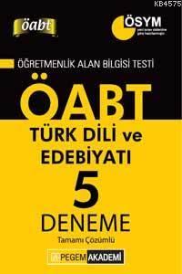 KPSS ÖABT Türk Dili Ve Edebiyatı Tamamı Çözümlü 5 Deneme 2014