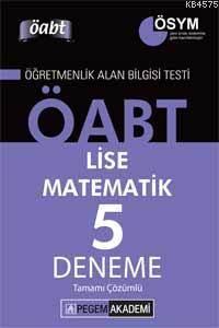 KPSS ÖABT Lise Matematik Tamamı Çözümlü 5 Deneme 2014