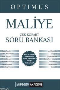 KPSS A Grubu Çek Kopart Maliye Soru Bankası 2015