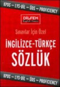 Sınavlar İçin Özel İngilizce Türkçe Sözlük