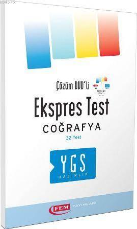 YGS Coğrafya Ekspres Test
