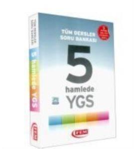 Fem Yayınları Tüm Dersler Soru Bankası 5 Hamlede YGS