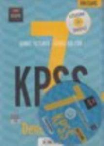 7 KPSS Deneme Seti Genel Yetenek- Genel Kültür