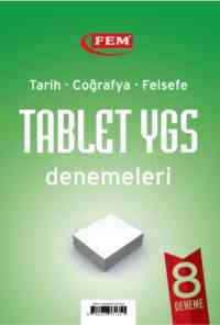 FEM Tarih-Coğrafya-Felsefe Tablet YGS Denemeleri