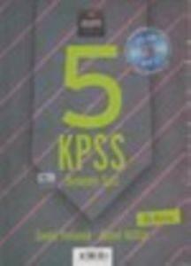 5 KPSS Deneme Seti Genel Yetenek- Genel Kültür