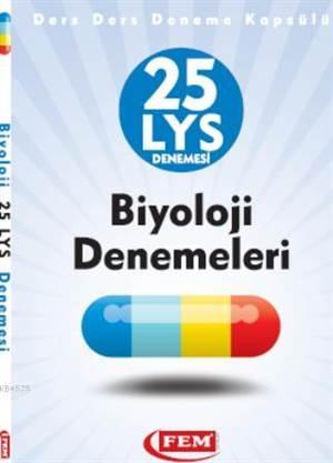 Fem LYS Biyoloji 25 Deneme