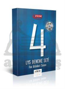 FEM Çözüm Dvd'li 4 LYS Deneme Seti Fen Bilimleri Sınavı