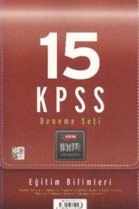 15 KPSS Deneme Seti Eğitim Bilimleri