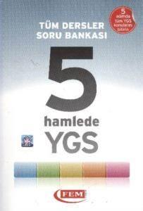 Tüm Dersler Soru Bankası 5 Hamlede YGS