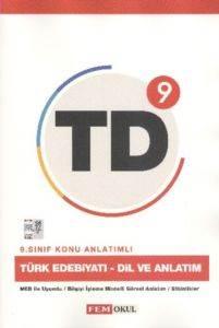 Fem 9.Sınıf Türk Edebiyatı - Dil Ve Anlatım Konu Anlatımlı