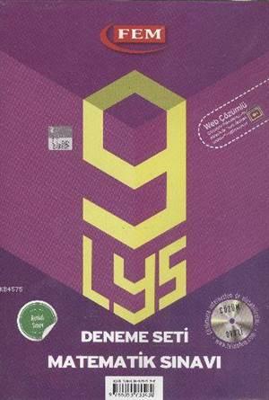 LYS 9 Deneme Seti Matematik Sınavı Çözüm Dvd'li