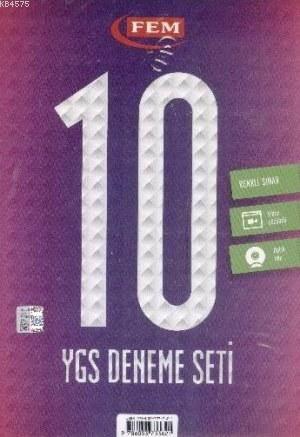 YGS 10 Fasikül Deneme Seti
